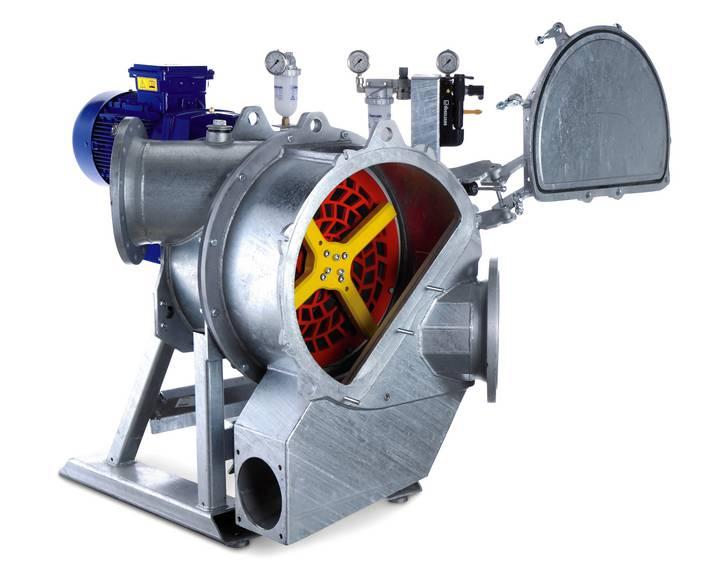 nass zerkleinerer biogas